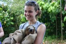 She plans to return to Costa Rica for a year in May to work as a volunteer at the Monteverde Institute.