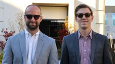 Matthew Helderman '11 (left) founded BondIt along with Luke Taylor (right), a service that helps low-budget filmmakers b...