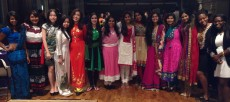 Students wore clothing that represent their country of origin at the gala Saturday night.