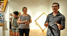 "Associate Professor of Art Eli Robb explains the inspiration for his newest exhibition,""Connections,"" in the Durand Ar..."