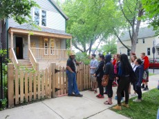 The Disney, Music, and Culture class received a private tour of Walt Disney's Chicago birthplace.