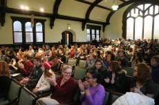 The Lydia Diamond Brain Awareness Week talk drew a big crowd.