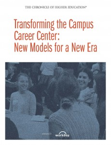 Commissioned by the Chronicle of Higher Education, this study looks at unique career center models in colleges and univers...