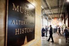 Schneiderman worked as the head writer of a team that wrote stories about the exhibits at the Museum of Alternative History