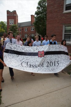 Members of the Class all signed the 2015 banner