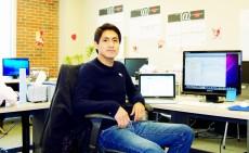 Erik Giraldo `12 has worked on two software development systems while studying at the College.