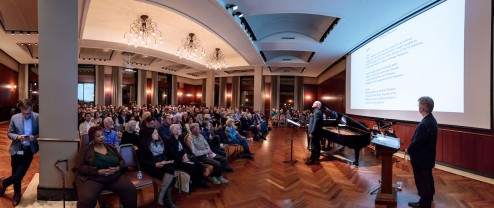 Music of the World's Fair presentation at the Newberry Library October 17, 2018. (Photo by John Zich)