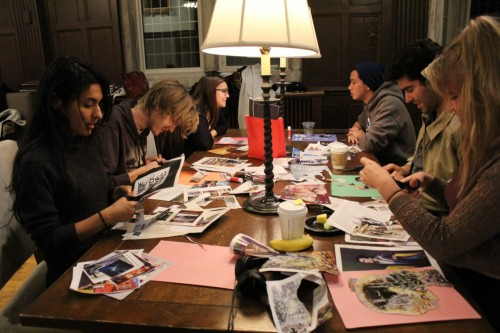 "<p class=""x_MsoListParagraph"">Students look through magazines to create a collage that represents their interests and career aspirations.</p>"