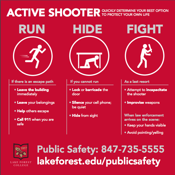 Run, Hide, Fight: An Active Shooter Guide