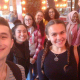 Students explored the West Loop on a 360 Chicago trip.