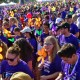 45 students and faculty attended the Walk to end Alzheimer's