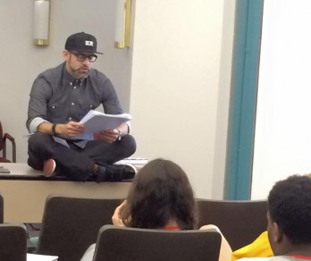 A special workshop with poet and activist Kevin Coval, founder of Louder Than a Bomb, the world's largest youth poetry festival.